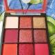 Nicka K Nine Color Eye Shadow Palette - Poison Apple
