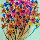 Flower power- Water Color Painting-3