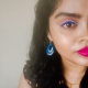 Makeup Look using PAC Fresh Color Palette, Lakme Instaliner, Ruby's Organics Creme Blush