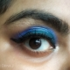 Eye Makeup Look Using Huda Beauty and Rimmel products