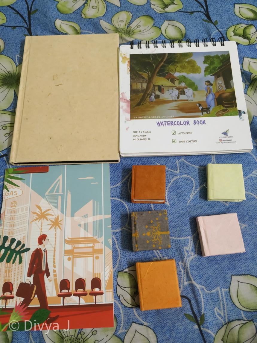 Ayush paper sketchbooks watercolor books