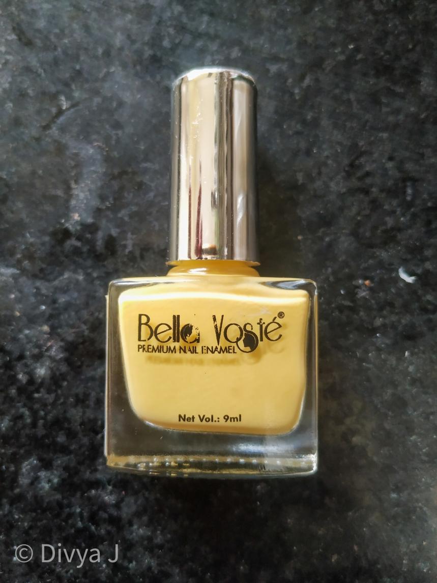 Bottle shot of Bella Voste Pastel Nail Paint- beach babe