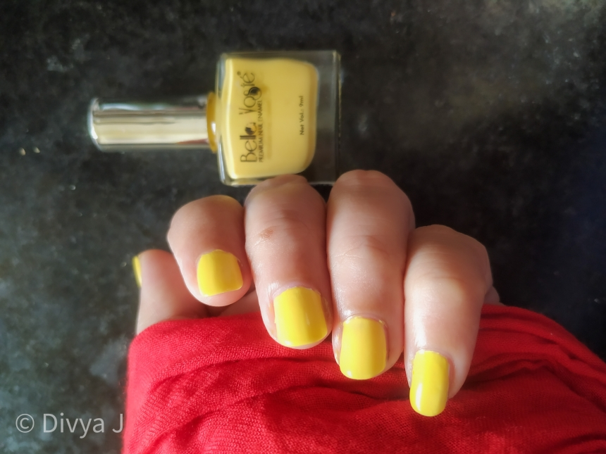 Nail and the bottle Bella Voste Pastel Nail Paint-Beach Babe