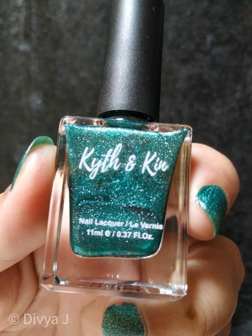Kyth & kin Sugar Finish Nail Lacquer-Sugar Lust Bottle shot