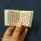 Floral Doodle on Mini Sketchbook