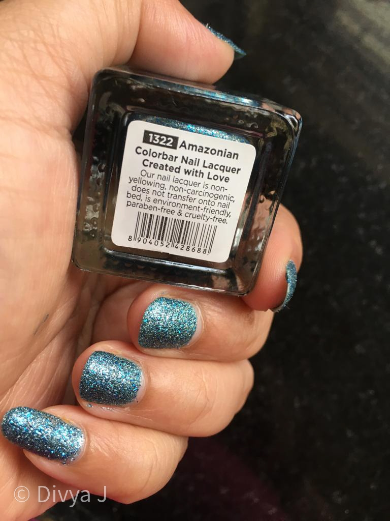 Name shot of Colorbar Arteffects Sandstorm Amazonian nail polish
