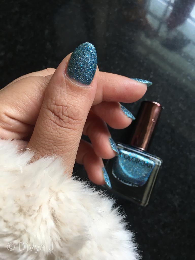 Thum nail shot of Colorbar Arteffects Sandstorm Amazonian nail polish