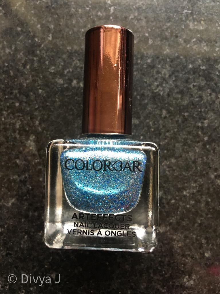 Bottle shot of Colorbar Arteffects Sandstorm Amazonian nail polish