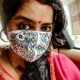 Wear your Tradition with Pride- The Madhubani Painting Face Mask