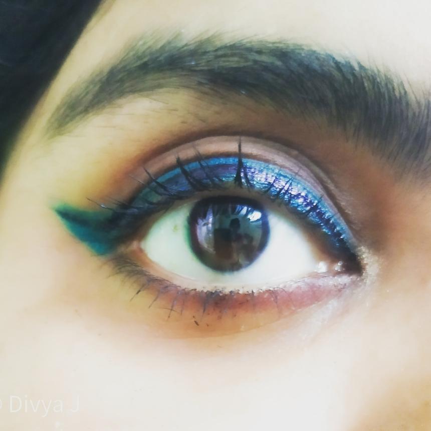 Double Eyeliner Look