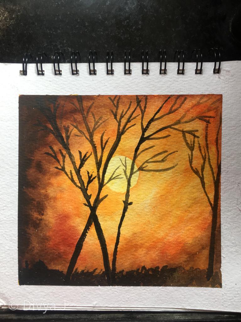 Ayush Paper Watercolor book
