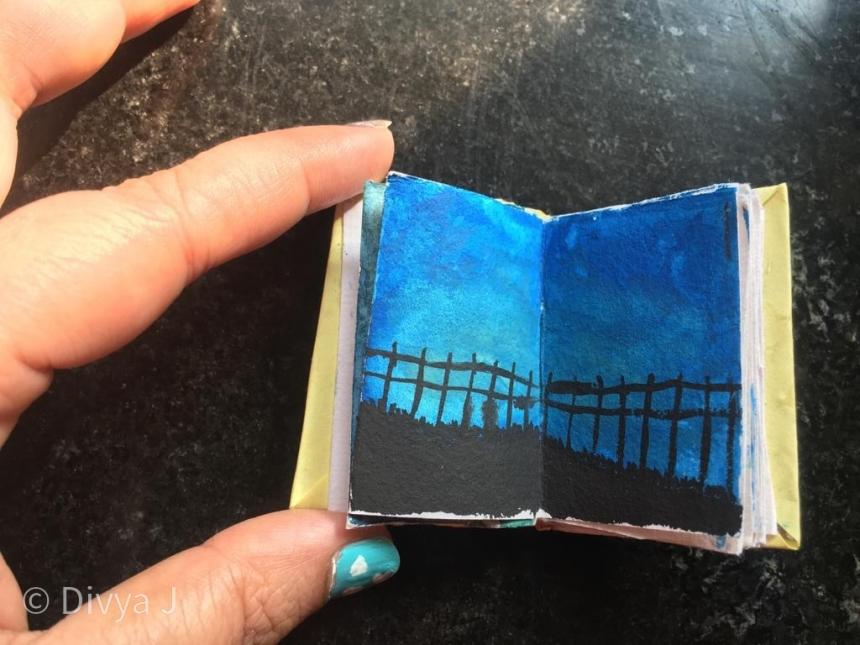 DIY Handmade Journal Sketchbook