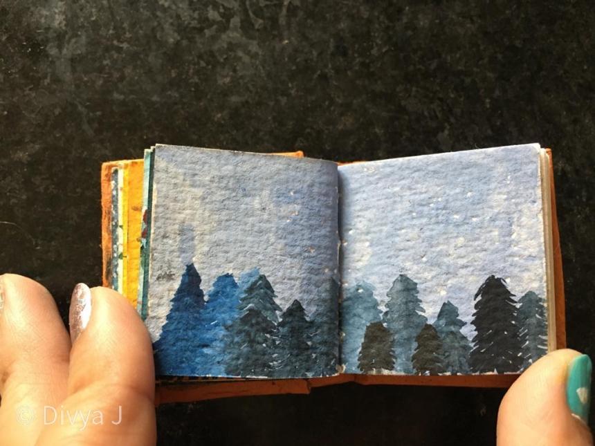 Ayush Paper Mini Watercolor book