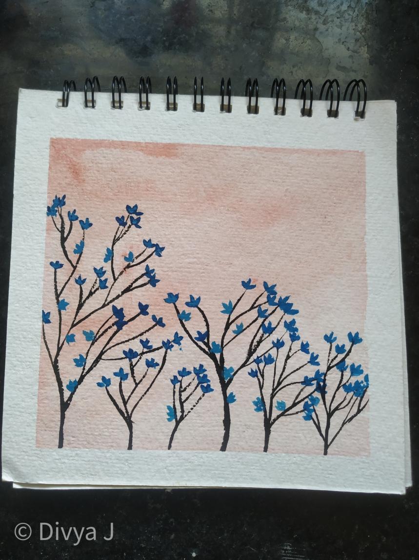 Ayush Paper 7×7 inch watercolor book